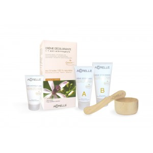 Натурален крем за изсветляване на окосмяването на лицето