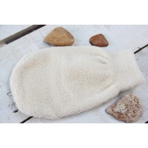 Ръкавица масажор Био памук