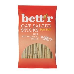Овесени солети с морска сол