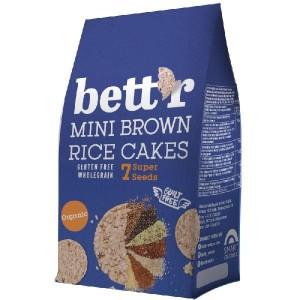 Мини оризовки от кафяв ориз и 7 супер семена