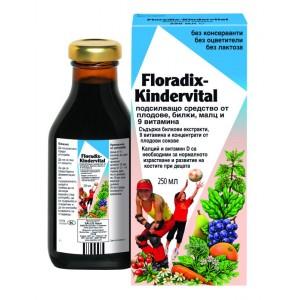 Floradix Kindervital - мутивитамин за деца