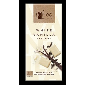 Бял шоколад с Ванилия ВЕГАН