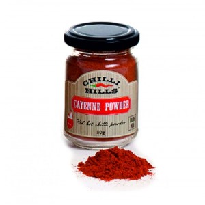 Лют червен Cayenne пипер