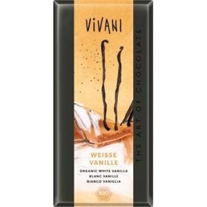 Бял шоколад с Ванилия