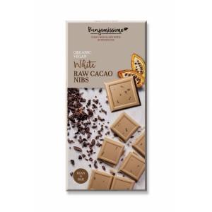Бял суров шоколад Какаови зърна