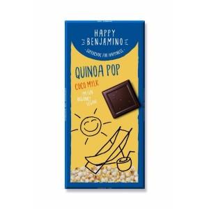 Шоколад с Кокосово мляко и Пукана Киноа