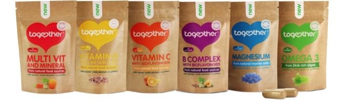 Витамини и хранителни добавки Together health