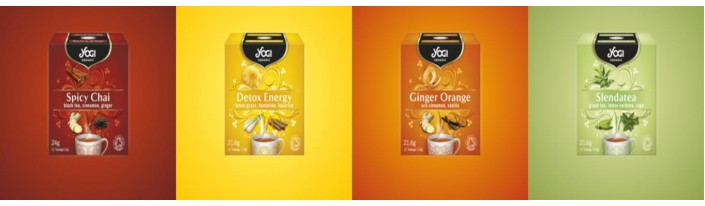 Новите чайове Yogi Organic
